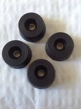 NEW Budwig Round Rubber Bumpers Set of 4 SF10 Short Foot