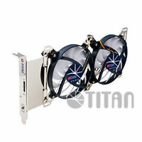 Titan Adjustable Dual Fan PCI Slot VGA Cooler TTC-SC07TZ