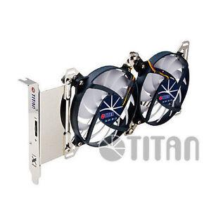 Titan Adjustable Dual Fan PCI Slot VGA Cooler TTC-SC07TZ