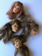 vintage barbie heads only