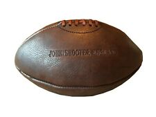 Vintage Traditional Style Leather Rugby Ball Retro Dark Brown CLEARANCE