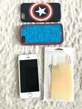 Apple iPhone 5s 32GB, ME309LL/A, Silver AT&T Discolored LCD no box