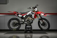 Honda crf 250 2018-2021 450 2017-2020 Lightning Motocross Graphics Kit