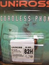 2.4V Uniross Cordless telefono batterie 500 NiMH 82H BC102168 RICAMBIO NUOVO SIGILLATO