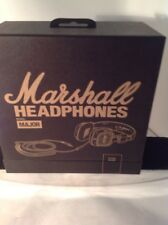 Marshall Major Pitch Black Headphones - WOW