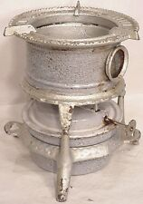 Vintage antique German  kitchen enamel ware tabletop kerosene stove enamelware