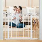 Baby Safety Gate Door Stair Child Dogs Kids Barrier Pet Fence Toddler Walk Thru