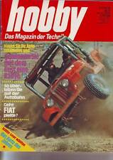 hobby 9/74 Saab 99 L/Triumph Dolomite Sprint/Chrysler 2 Liter (Teil 2)/24.4.1974