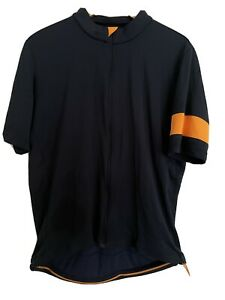 RAPHA Classic Trikot Jersey XXL - Navy/Orange - Merino