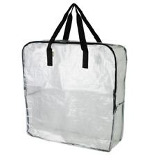 VALUE 5 PACK* IKEA Dimpa Reusable Clear Zipper Storage Bags HeavyDuty *