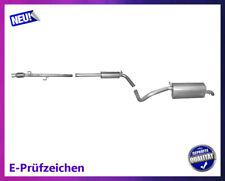 Auspuff Auspuffanlage SKODA FABIA FLIEßHECK 1.0 1.4 50//60PS 1999
