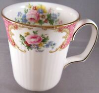 Royal Albert Lady Carlyle (White) Bone China Coffee or Tea Mug (4 In.)