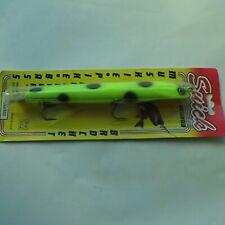 USA Import legendary Suick Thriller 7inch 17.5cm wooden jerkbait lure 2x wghts