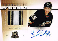 09-10 The Cup SIGNATURE PATCHES xx/75 Made! Brian SALCIDO 3 color 6 breaks!!