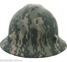 MSA V-Gard Full Brim ACU Camouflage Safety Hard Hat NEW! Fast Ship! MADE in USA