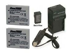 TWO 2 NB-4L NB4L Batteries + Charger for Canon SD940 IS ELPH 310 HS IXUS 230 HS