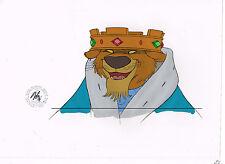 Walt Disney 1973 ROBIN HOOD Cartoon Animation Production Cel PRINCE JOHN