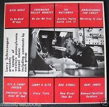 Larry Schrecongost Western Pennsylvania GOSPEL MUSIC LP Conemaugh Valley Quartet