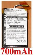 Batterie 700mAh Pour Creative Zen wav, BAC0603R79921