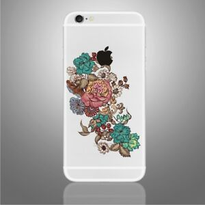 Flowers Sticker for PHONES, iPhone X, 6,6Plus,6s,6sPlus, 7,7Plus,8 and palmrests