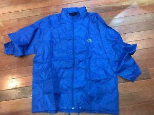 BNWT Slazenger Blue Rain Coat Sz XXL