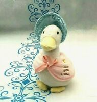 The World Of Beatrix Potter Jemima Puddle Duck Soft Plush Toy 15CM Tall