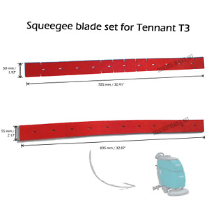 Squeegee set for TENNANT T3 - FREE SHIPPING - HUGE QUANTITY DISCOUNT