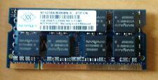 NANYA nt1gt64u8hb0bn-3c nt1gt64u8ha0bn-3c PC2-5300S da 1GB DDR2 667 MHZ MEMORIA