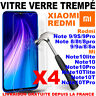 Vitre Film Protection Xiaomi Redmi 6A/7/8/9/9A Note 5/7/8/9/9S Pro Verre Trempe