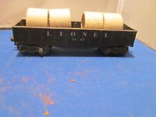 Lionel BLACK Gondola Car 1002 WITH COILS FOR PARTS OR REBUILD