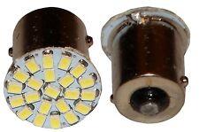 2x ampoule P21W R5W R10W 12V 22LED SMD blanc effet xénon base 1156