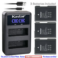 Kastar Battery LCD Dual Charger for Nikon EN-EL14 EL14 MH-24 & Nikon D5600 DSLR