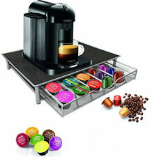 Nespresso Dolce Gusto Coffee Machine Stand & Capsule Pod Storage Holder Drawer
