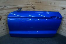 Left Driver Door Shell Velocity Blue E7 OEM Ford Mustang S550 Shelby GT500 2020