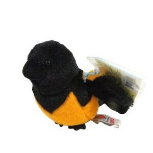 "Ganz Webkinz Lil Kinz Oriole 4"" Plush Bird Stuffed Animal Toy HS510 Sealed Code"