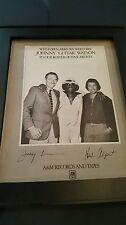 Johnny Guitar Watson Rare Original A&M Records Promo Poster Ad Framed!