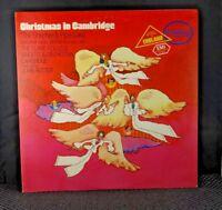 Clare College Singers - Christmas In Cambridge (Capitol Records – SM-10567)