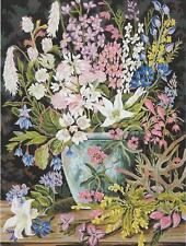 Australian Wildflowers needlepoint tapestry WOOL KIT  50 x 60 cm. SALE