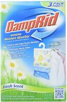 DampRid Hanging Bags, Fresh Scent 16-Ounce, 3-Pack