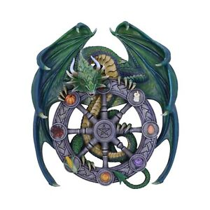 Nemesis Now - PAGAN WHEEL OF THE YEAR WALL PLAQUE - Magical Dragon Anne Stokes