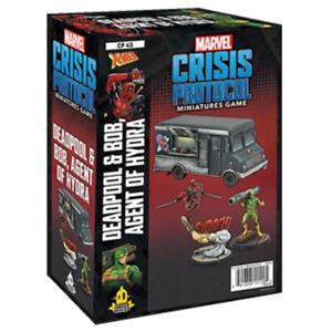 Marvel Crisis Protocol Deadpool and Bob
