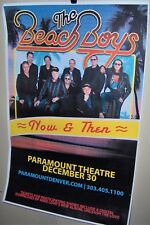 The Beach Boys in Concert Show Poster Now & Then Tour Denver Co 12-30-2018 Cool