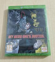 MY HERO ONE'S JUSTICE 1 ITALIANO NUOVO SIGILLATO MICROSOFT XBOX ONE X/S