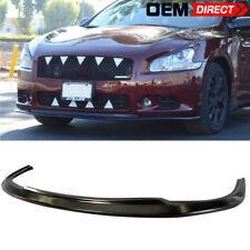 Fits 09-15 Nissan Maxima ST Style Front Bumper Lip Chin Splitter - Urethane PU