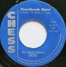 R&B ROCKER 45 BILL SMITH HEARTBREAK HOTEL HEAR -IN D VERSAND KOSTENLOS AB 5 45S!