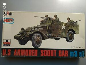 M3 A1 SCOUT CAR   1/72 ESCI