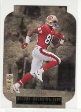 JERRY RICE SAN FRANCISCO 49ERS 1996 UPPER DECK RECORD BREAKING TRIO #3 OF 4