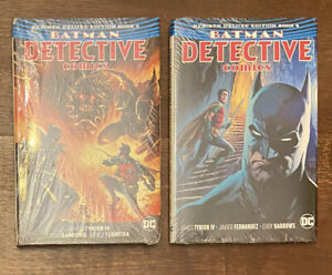 BATMAN DETECTIVE Comics Rebirth Deluxe VOL #3 And 4 HARDCOVER Lot- New Sealed