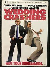 Wedding Crashers (DVD 2006) Owen Wilson, Vince Vaughn, Christopher Walken
