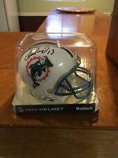 Miami Dolphins Dan Marino Signed Mini Helmet